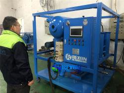 محطة فرعية استخدام حقل تفريغ زيت عازل تنقية 6000 لتر/ساعة
