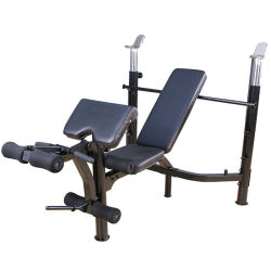 Home Gym Fitness apparatuur Barbell Bed Weightlifting Bed Bench apparatuur Gewicht tafelset lichte sportmachine