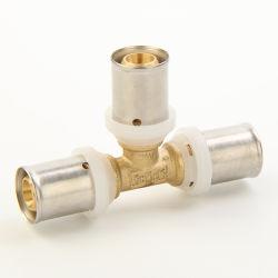 La igualdad de la t- Presione Compsite racores para tubo con marca de agua/ACS//Skz WRAS/Aenor