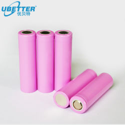 Nachladbare Ionenbatterie-Zelle des Lithium-18650 mit Bescheinigung des BIS-Cer-Un38.3 für E-Fahrrad helle Energien-Solarhilfsmittel