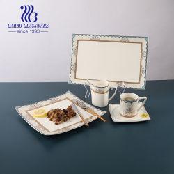 مستطيل ممتاز يخدم ألواح ، أبيض مستطيلة [بلتر] فرن خزينة ، يخدم أطباق وصينيات لحفلة ، خزفية طبق لمّيات ، طعام ، مشّهيات ، أبيض