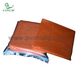 Total de PVA Melt-Away Biohazard Eco bolsas de plástico disuelto desechables bolsas de lavandería