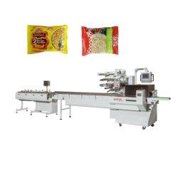Máquina de envasado de alimentos automática de embalaje de fideos instantáneos de la máquina de sellado de llenado de envoltorio para galletas/Wafer/Cookie/Pan/barra de chocolate torta de luna//Bun