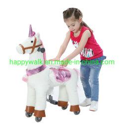 [س] حارّ يمشي حصان حجر السّامة لعبة قطيفة آليّة لعبة عمليّة ركوب على حصان حجر السّامة لأنّ أطفال