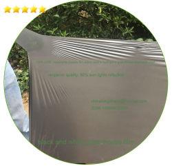 Perforado de alta calidad Plástica agrícola Perforación/Negro el pajote Film