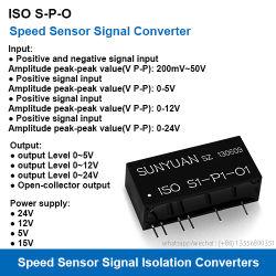 جهاز إرسال عزل إشارة نبض مستشعر السرعة من الفئة S-P-O ISO