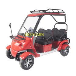 Новые поступления на четыре колеса для взрослых 2500W работать от батареи электрическая мощность поля для гольфа тележки