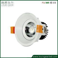 Алюминий раунда 5 Вт светодиод моды початков Downlights внешний драйвер светодиодный индикатор освещения панели