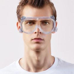 도매 명확한 Anti-Fog 방어적인 방진 용접 Fpv 고글 형 안전 ANSI Z87.1 Eyewear 주문 처분할 수 있는 작업복 UV 보호를 위한 이중으로 한다
