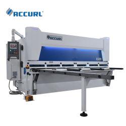 Accurl hydraulische Schwingen-Träger-Guillotine-Schermaschine-Maschine