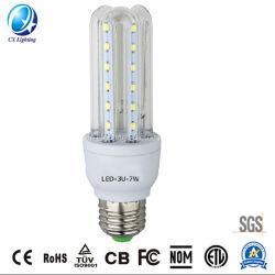 Marcação RoHS 2u 3u Energy Saver Salvando LED espiral CFL lâmpada da luz da lâmpada de milho com o preço