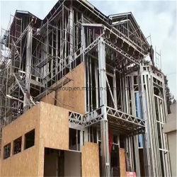 Aço luz House Building contraplacado impermeável OSB