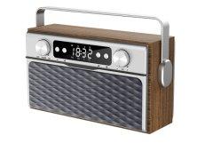 سماعة لاسلكية محمولة بتقنية Bluetooth مقاومة للماء مع راديو مصابيح الطوارئ المشعقة