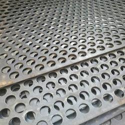 Orificio redondo de chapa perforada de acero inoxidable
