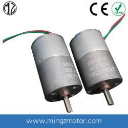 3V 6V 12V DC 24V micro moteur à engrenages avec faible bruit pour les équipements PET