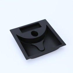 Fosco de alta qualidade PS Black Bandeja de plástico para produtos eletrônicos embalagens