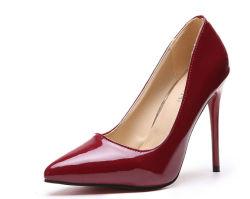服の職場のための女性のスチレットヒールポンプサンダルの靴