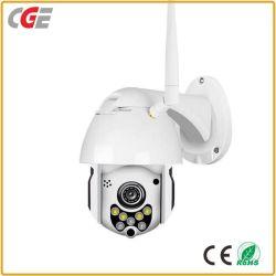 1080P無線WiFi IP小型屋外PTZのドームのカメラ