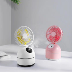 Tableau de refroidissement à eau pulvérisée Mist ventilateur Ventilateur de mini USB rechargeable
