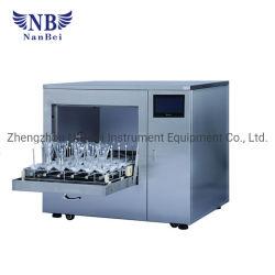 Wasmachine van de Fles van het Glas van het laboratorium de Automatische met Ce