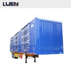 Luen 공장 직접 판매 최고 가격을%s 3 차축 상자 반 트레일러 화물 트럭