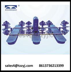 De Apparatuur van Aqua van het Beluchtingstoestel van de Vijver van de Visserij van het Type van Wiel van het Water van de hoge snelheid