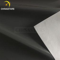 Forte luminosité tc ou de polyester noir pour les vêtements en tissu réfléchissant