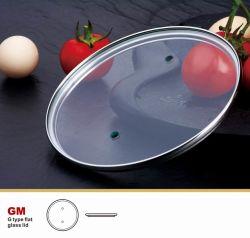 FDA Aangemaakt Deksel 3.8mm van het Glas het Keukengerei van de Dikte