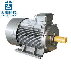 Y2 Fonte de la série asynchrone CA triphasé boîtier en aluminium d'induction électrique boîte de vitesses du ventilateur du compresseur d'air à deux vitesses Phase Reducesingle Moteurs électriques