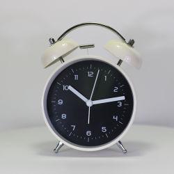 Vérin simple réveil blanc de haute qualité avec double Bell
