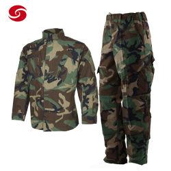 Cina Xinxing Woodland Camouflage Stampa Esercito combattimento uniforme militare