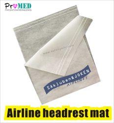 Biodegradabl SMS/PP/нетканого материала направляющие подголовника авиакомпании