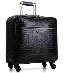 PVC cuero pu Carrito con ruedas maletas Bolsa Maleta de Viaje de Negocios (CY6916)