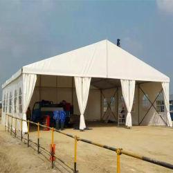 خيمة زفاف غير شفافة مصنوعة من مادة PVC مقاومة للماء مقاومة للأشعة فوق البنفسجية
