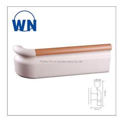 Mobilier de l'hôpital 159mm de largeur de la main courante en PVC en alliage aluminium désactivé wn-H159
