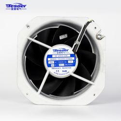 225x225x80mm Tablero Eléctrico Solar ventilación de aire acondicionado Ventilador (TXA80S-225 blanco)