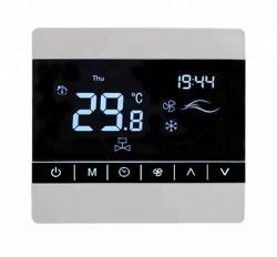 Het digitale Controlemechanisme van de Temperatuur van het Scherm van de Aanraking voor de Airconditioning van de Zaal