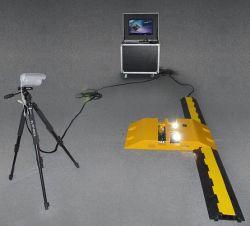 Abnm-Uvss06 Inspecton portátil bajo el sistema de seguridad del vehículo
