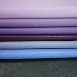 Cuir synthétique synthétique le tissu de polyester pour jupe Down Jacket Clohting