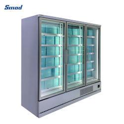 Il frigorifero commerciale inserisce il frigorifero aperto del refrigeratore della visualizzazione di Multideck del portello di vetro