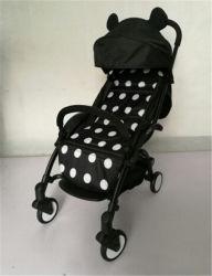 Passeggiatore con il Portable rovesciabile del passeggiatore del bambino della fibra di /Carbon della maniglia
