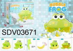 Liede des Bad-Spielzeug-Luftblasen-Frosch-12
