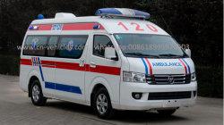Fotonフォードの高い屋根緊急Eの救急車車の価格