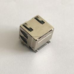 Cat3 High-End van de Rang Elektronische Componenten van PCB van de LEIDENE Hefboom van de Verlichting RJ45 de Oppervlakte Opgezette