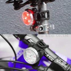 Аккумуляторный светодиодный индикатор на велосипеде велосипед, лампы задних фонарей освещения передней панели USB 2PCS велосипед фонарь, передний и задний фонарь из алюминия