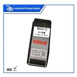 Origal Videojet Willett Cij Inkjet Printing 잉크 W553-D(MSDS 포함 잉크 머신 인증