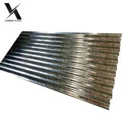 Z100 Gi galvanizado mosaico de acero corrugado de techo de zinc HOJA HOJA Cr Gi techos ondulados galvanizada para la venta plancha de hierro corrugado