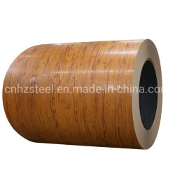 PPGI Bedruckte Stahlspule mit Holzmuster