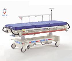 E-8 luxueux Transfert patient hydraulique civière, civière médicale