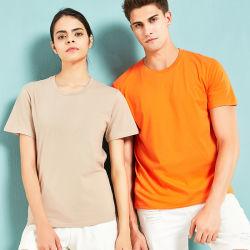 Пользовательские Wholesales мужчин 95% хлопок 5% спандекс 180g низкой цене обычной Tshirts